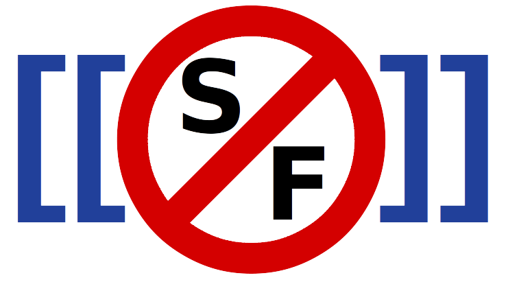 Logo of the Stop Synthetic Filth! wiki
